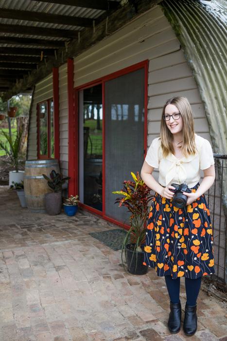 Julia at the Julia nance portraits studio