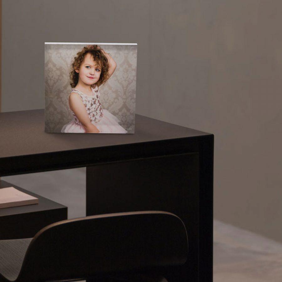 Desk Print: Acrylic Iceblock