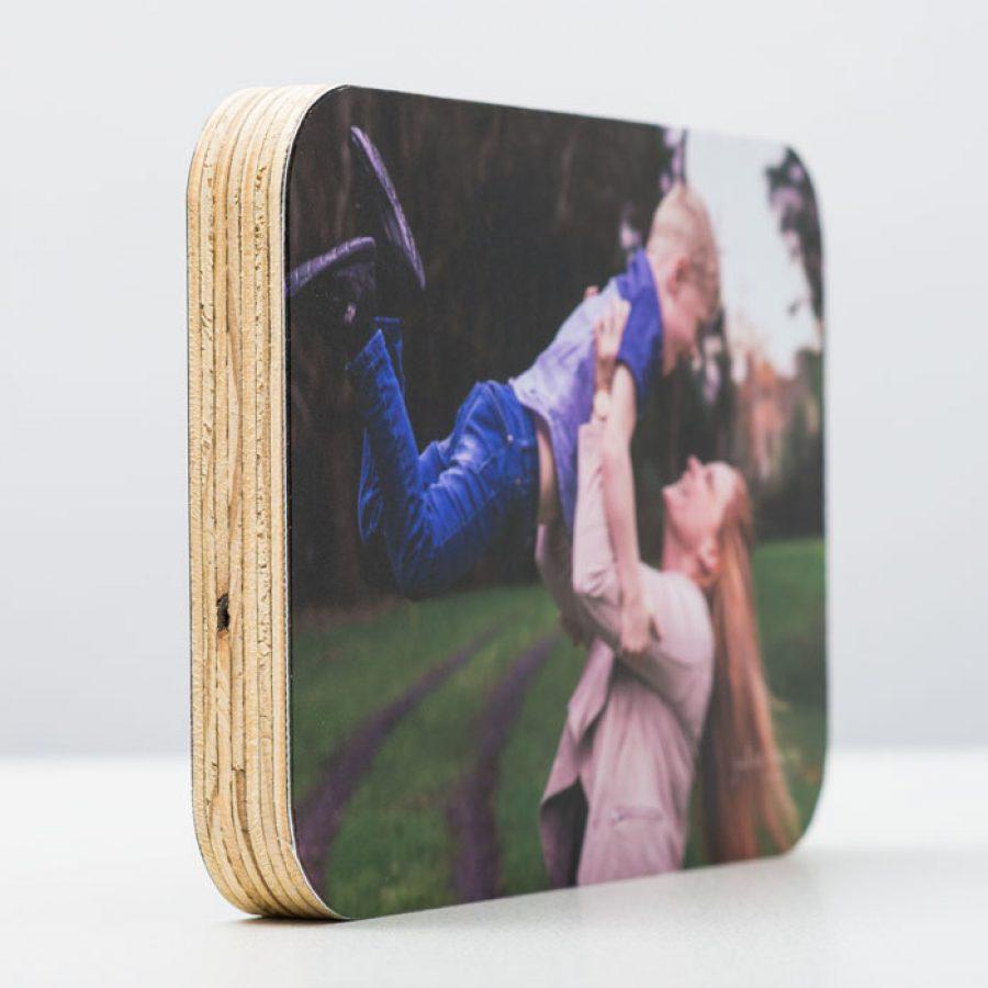 Desk Print: Wooden